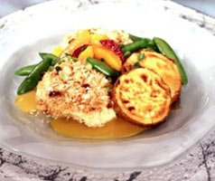 Macadamia Crusted Halibut at Old Fisherman's Grotto